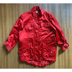 (New) Calvin Klein XS (S) Oversized Red Jacket